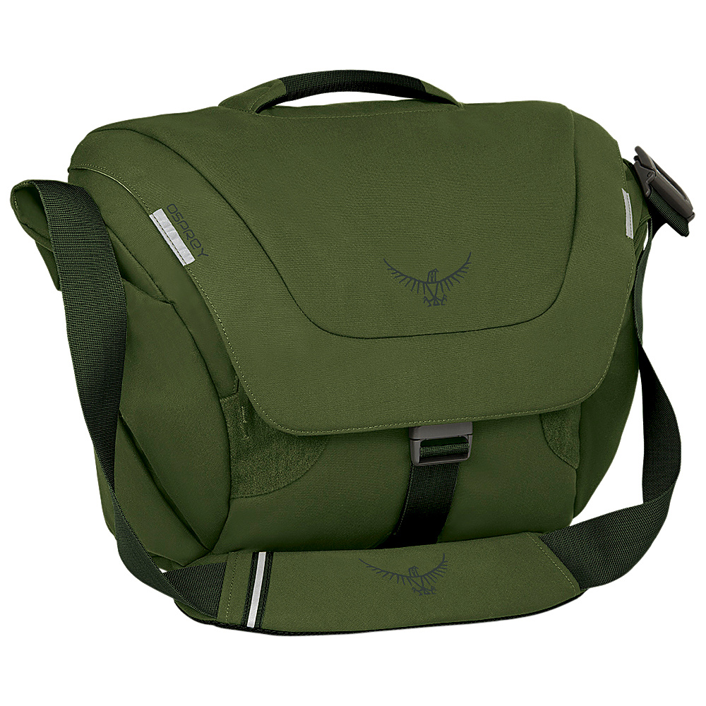 Osprey FlapJack Courier Peat Green - Osprey Messenger Bags - Work Bags & Briefcases, Messenger Bags