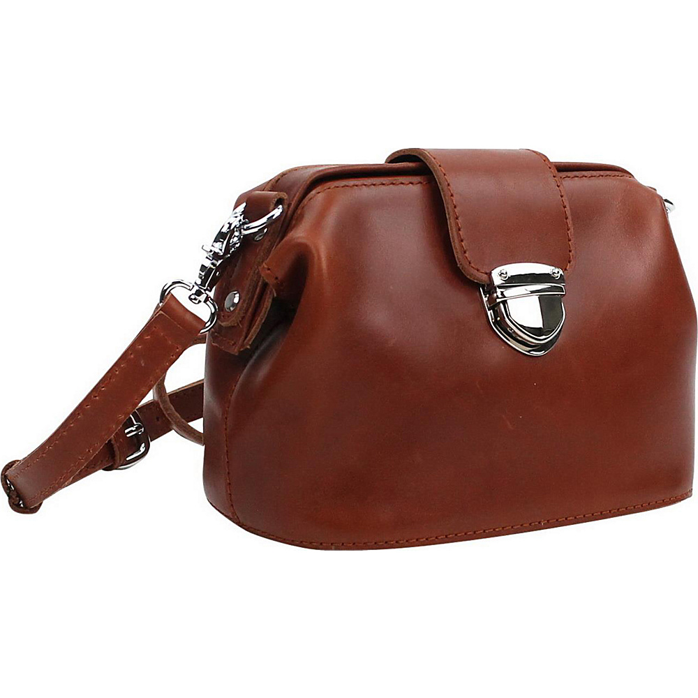 Vagabond Traveler 9 Leather Shoulder Bag Brown - Vagabond Traveler Leather Handbags - Handbags, Leather Handbags