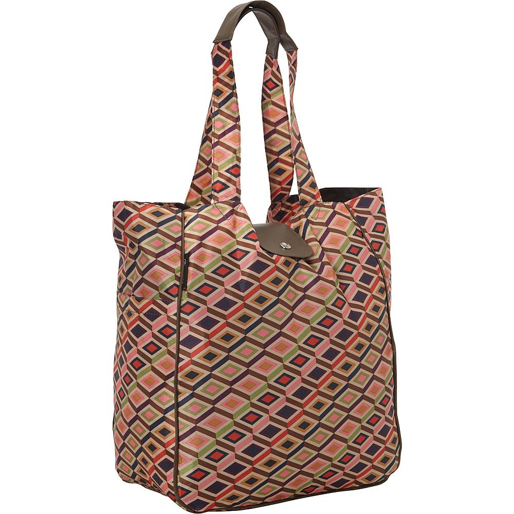 pb travel RunRunRun Eco Friendly Foldable Bags Beige - pb travel Lightweight packable expandable bags