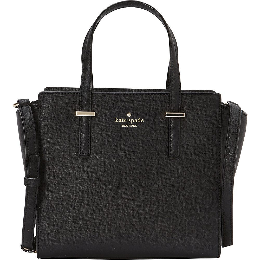 kate spade new york Cedar Street Small Hayden Black - kate spade new york Designer Handbags