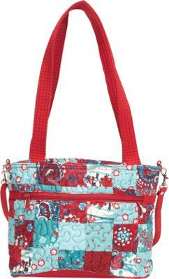 Jenna Bag Abilene Patch - Donna Sharp Fabric Handbags