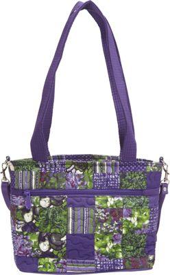Jenna Bag Concord Patch - Donna Sharp Fabric Handbags