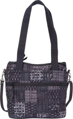 Jenna Bag Graphite - Donna Sharp Fabric Handbags