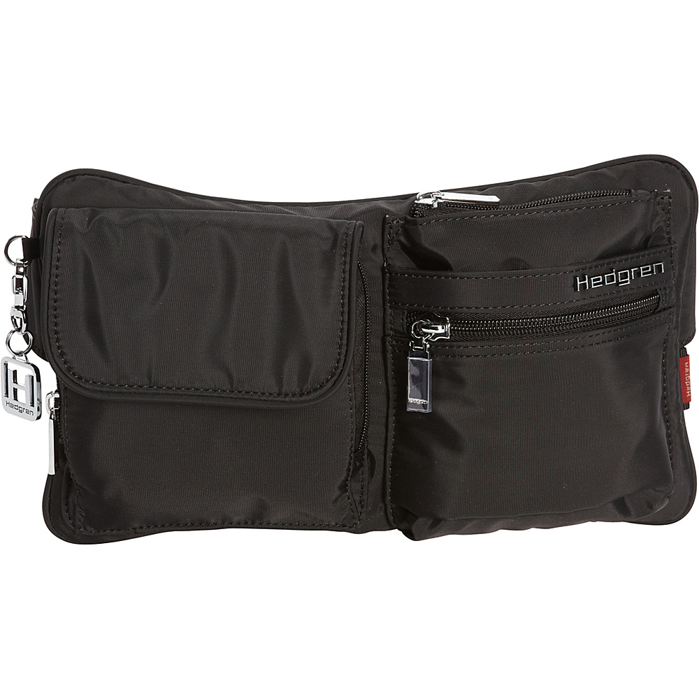Hedgren Ashur Waist Bag Black Hedgren Waist Packs