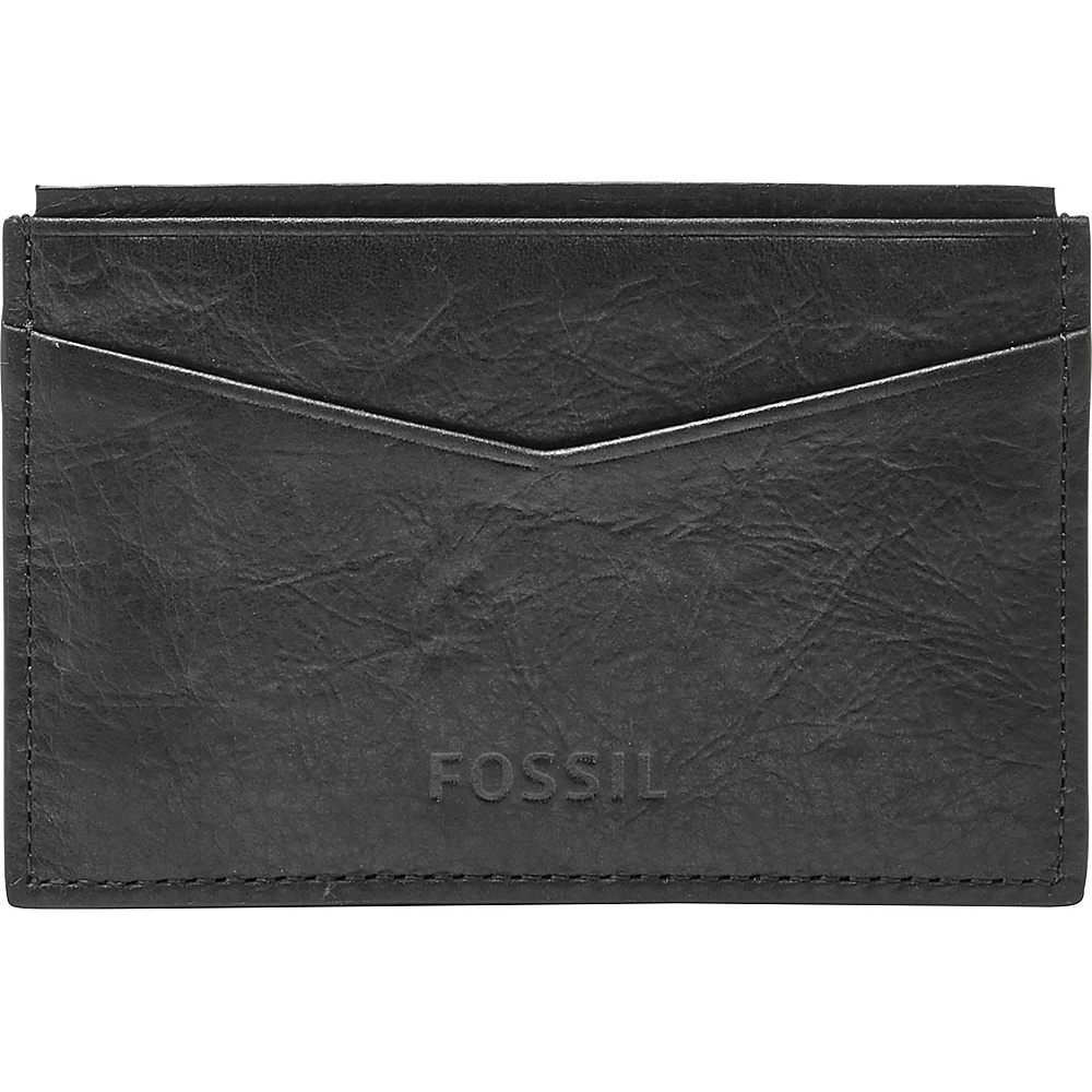 Fossil Ingram Card Case Black - Fossil Mens Wallets - Work Bags & Briefcases, Men's Wallets