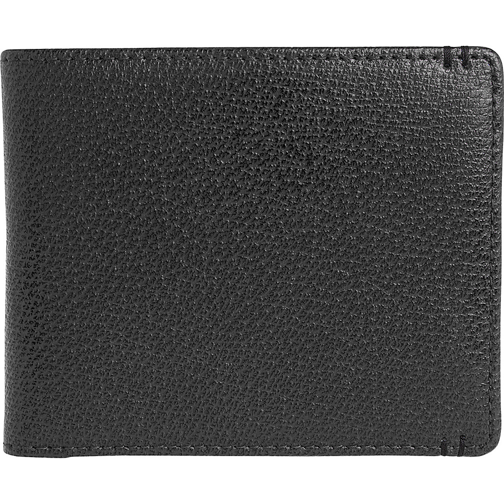 Lodis Stephanie Classic Billfold with RFID Protection Black Lodis Men s Wallets