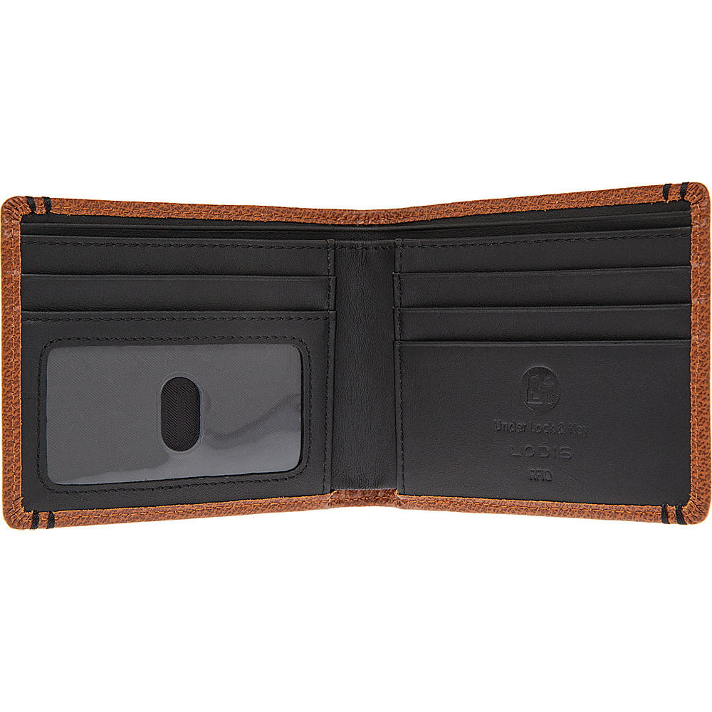 Lodis Stephanie Classic Billfold with RFID Protection Chestnut - Lodis Men's Wallets