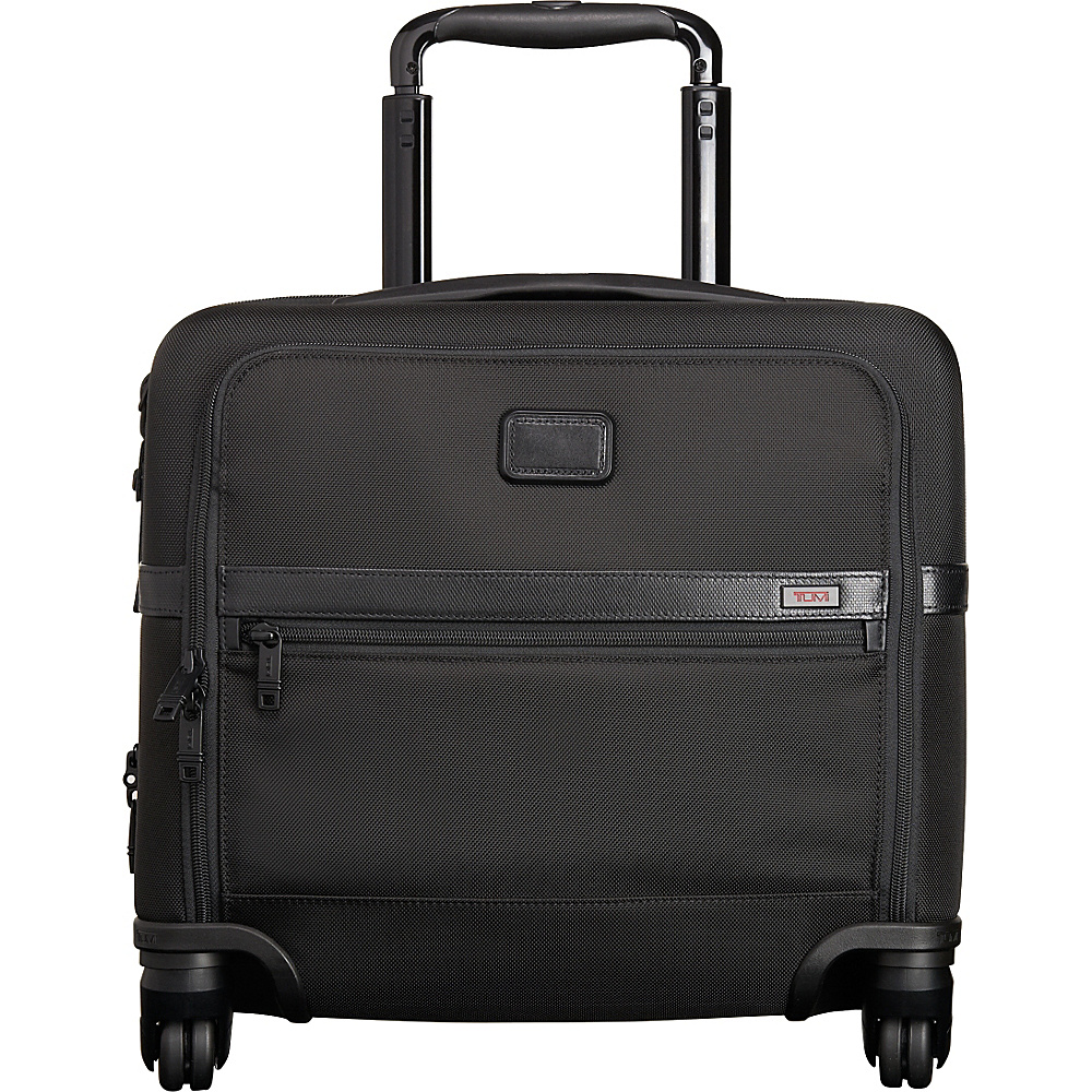 Tumi Alpha 2 4 Wheel Computer Brief Black D 2 Tumi Wheeled Business Cases