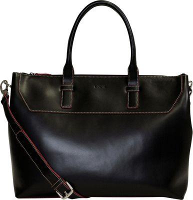 Lodis Audrey Wilhelmina Satchel Black - Lodis Women's Business Bags