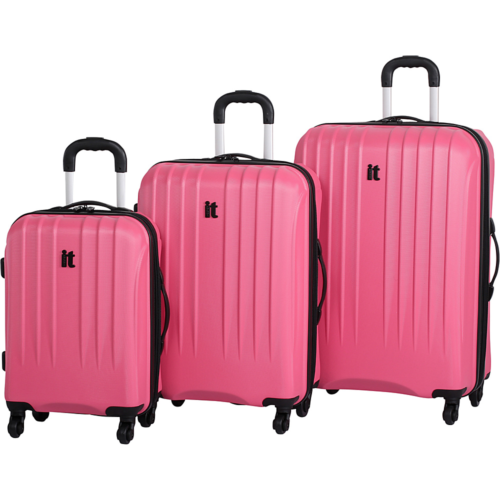 it luggage Air 360 3PC Luggage Set Exclusive Sunkist Coral it luggage Luggage Sets