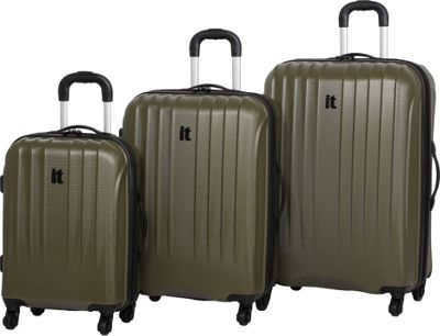 it luggage Air 360 3PC Luggage Set - Exclusive Dark Olive - it luggage Luggage Sets