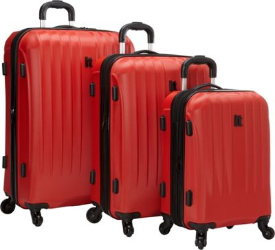 it luggage Air 360 3PC Luggage Set - Exclusive Fiery Red - it luggage Luggage Sets