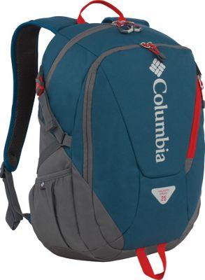Columbia Sportswear Hackers Creek Day Pack Blue Heron - Columbia Sportswear Laptop Backpacks