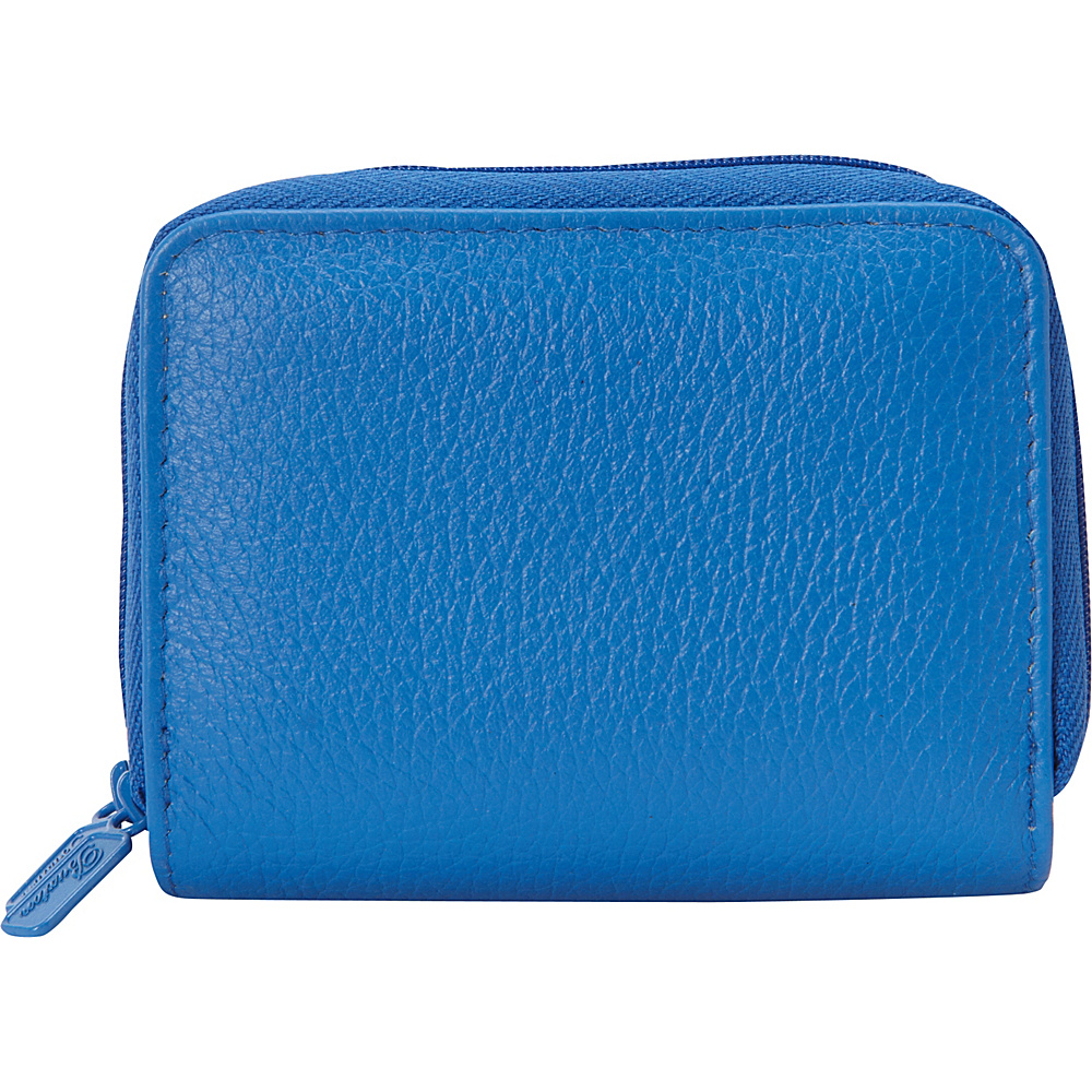 Buxton Pik-Me-Up Wizard Wallet - Exclusive Colors Strong Blue - Buxton Womens Wallets - Women's SLG, Women's Wallets