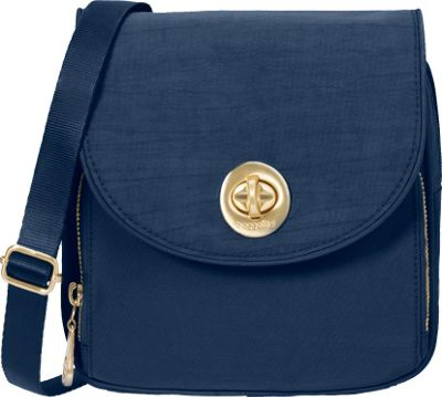 baggallini Gold Kensington Mini Crossbody Pacific - baggallini Fabric Handbags