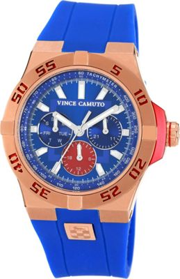 Vince Camuto Watches The Master II Watch Blue/Rose Gold/Blue - Vince Camuto Watches Watches