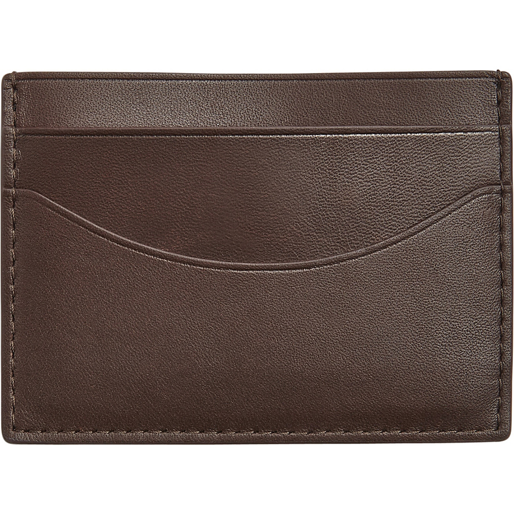 Skagen Torben Card Case Brown Skagen Men s Wallets