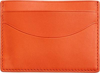 Skagen Torben Card Case Orange - Skagen Men's Wallets