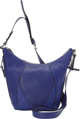 French Connection Ollie Crossbody Monarch Blue - French Connection Manmade Handbags