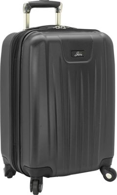 Skyway Nimbus 2.0 20 inch 4 Wheel Expandable Carry-on Black - Skyway Softside Carry-On