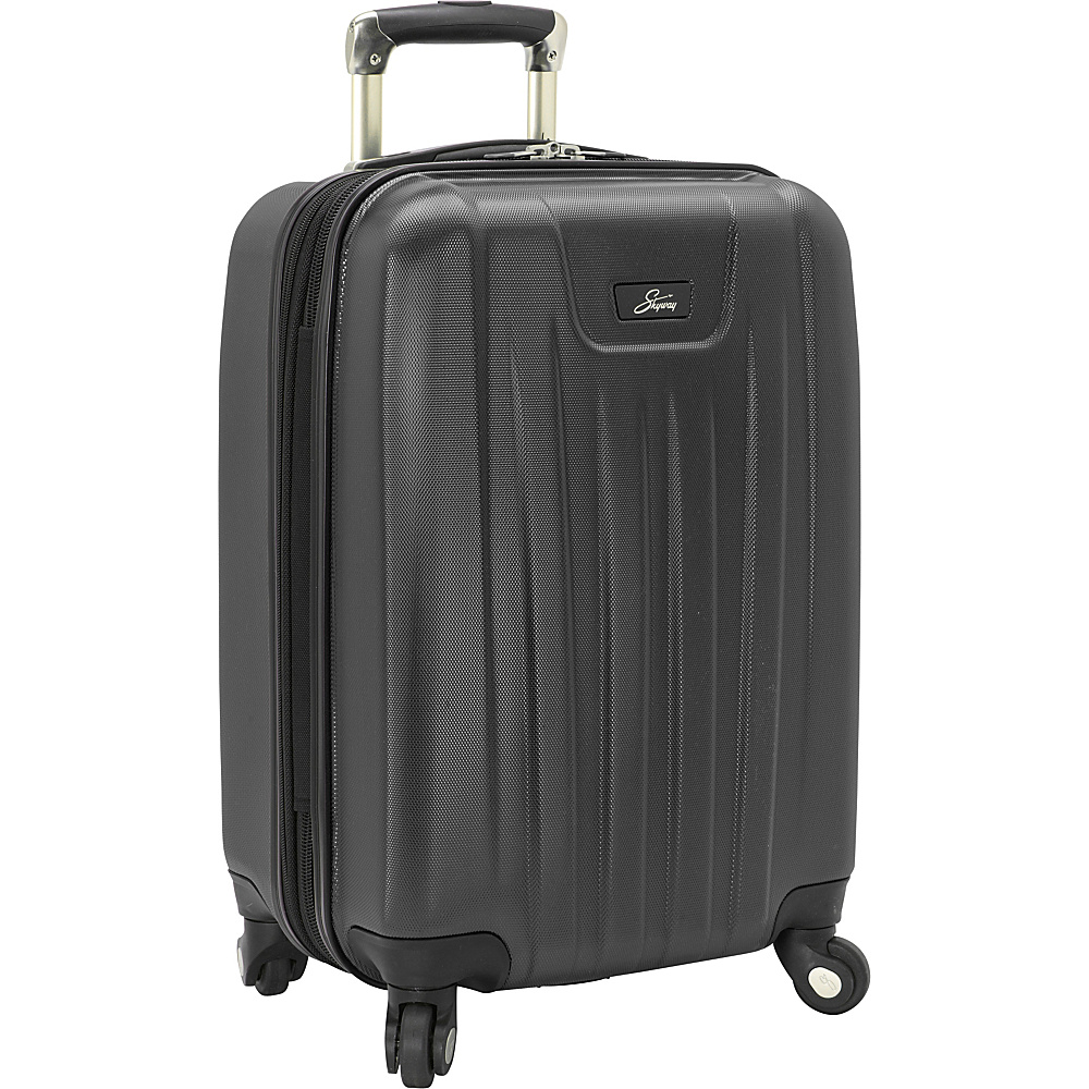 Skyway Nimbus 2.0 20 4 Wheel Expandable Carry on Black Skyway Softside Carry On