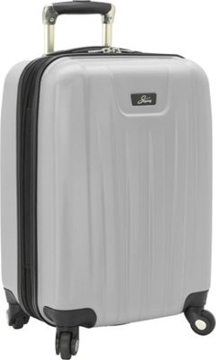 Skyway Nimbus 2.0 20 inch 4 Wheel Expandable Carry-on Silver - Skyway Softside Carry-On
