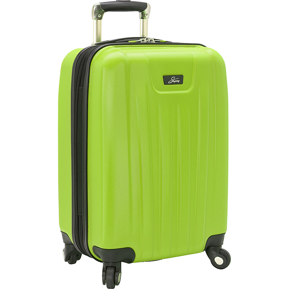Skyway Nimbus 2.0 20 4 Wheel Expandable Carry on Apple Green Skyway Softside Carry On