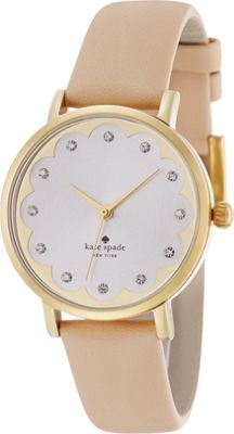kate spade watches Scalloped Metro Tan - kate spade watches Watches
