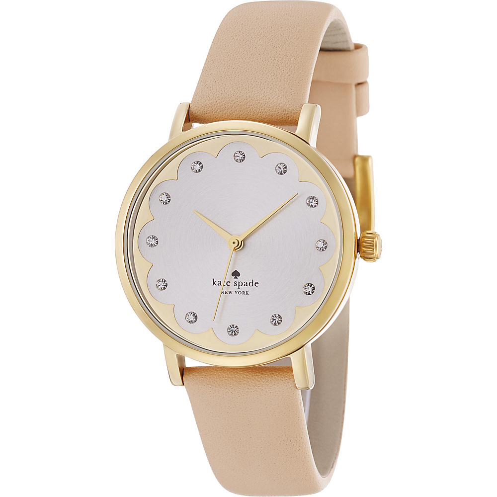 kate spade watches Scalloped Metro Tan kate spade watches Watches