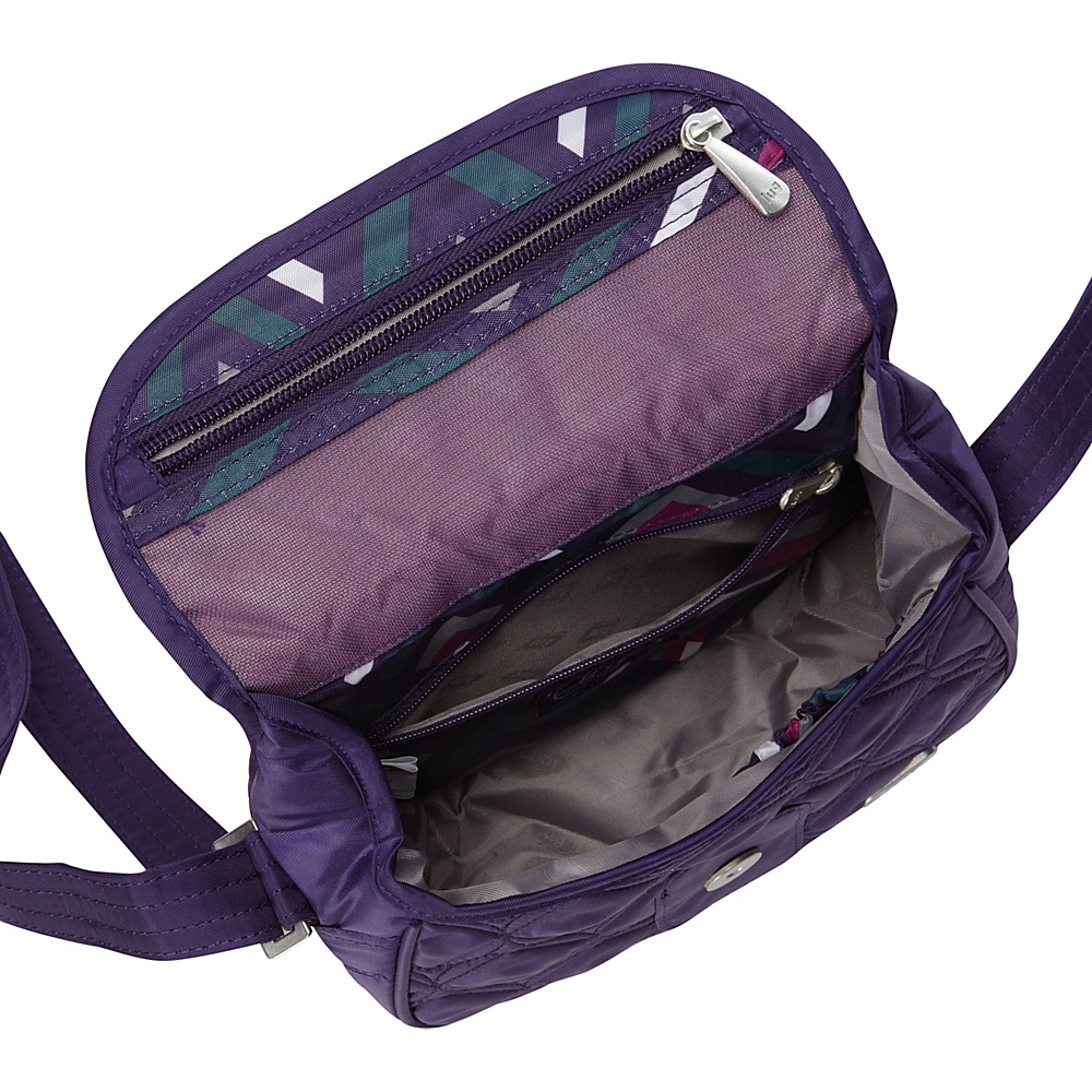 Travel light the right way with the popular Lug Puddle Jumper and its packable partner. Two jet-set styles keep you organized with accessible pockets and have a design you can easily take anywhere--one adjusts to fit comfortably, and the other folds to fit inside.
