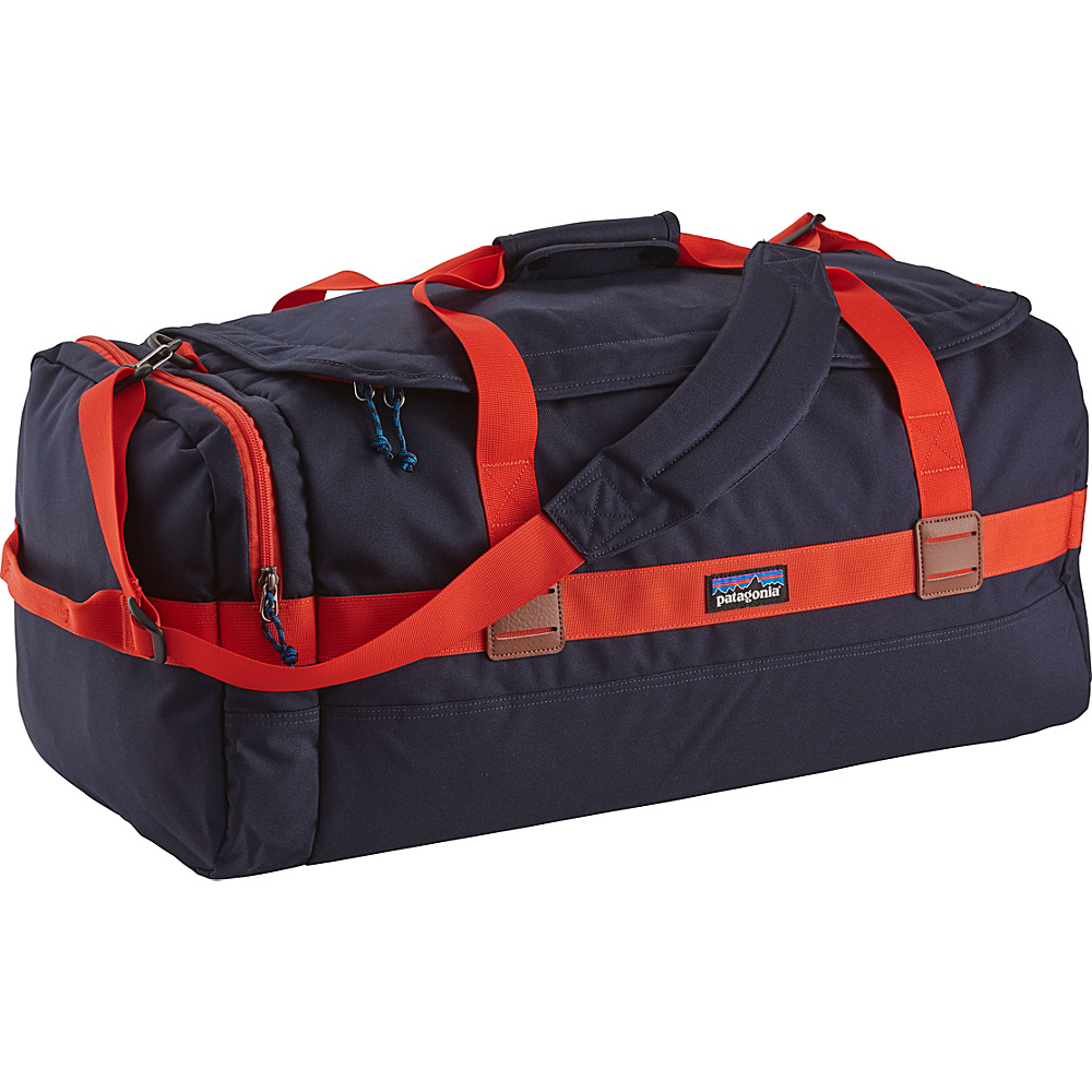 Patagonia Arbor Duffle 60L Navy Blue w/Paintbrush Red - Patagonia Outdoor Duffels - Duffels, Outdoor Duffels