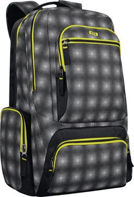 SOLO Surge 15.6 inch Laptop Backpack Green - SOLO Business & Laptop Backpacks