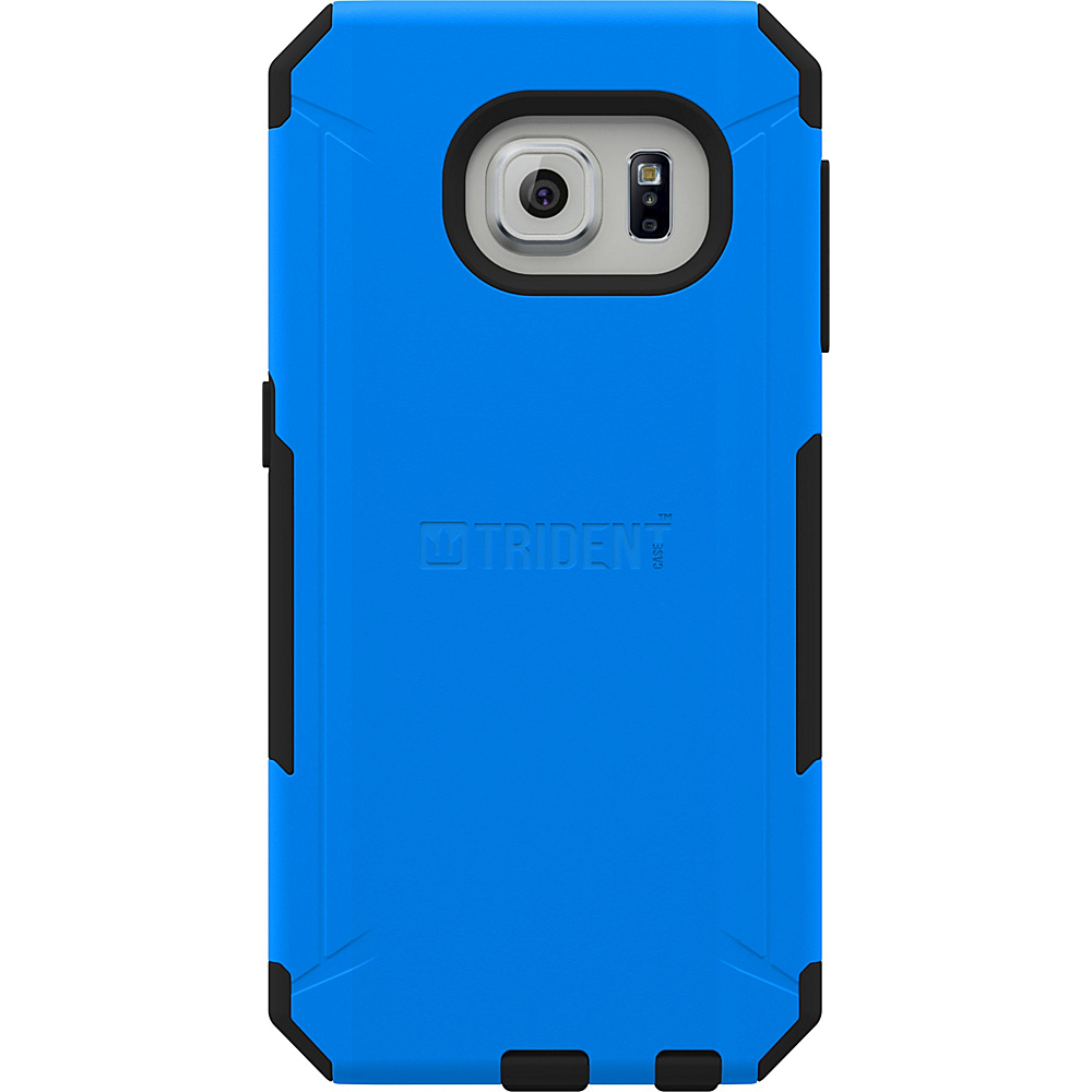Trident Case Aegis Phone Case for Samsung Galaxy S6 Edge Blue Trident Case Electronic Cases
