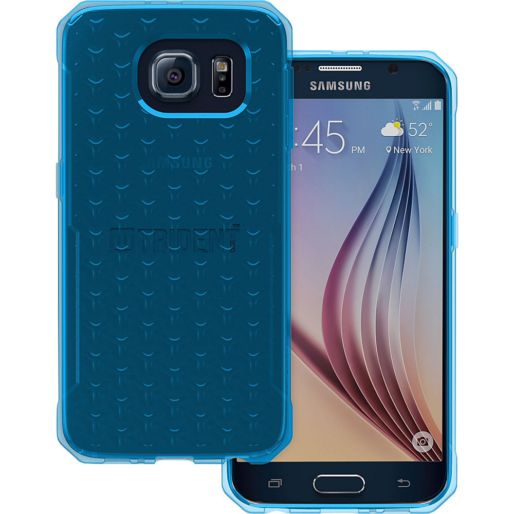 Trident Case Krios Phone Case for Samsung Galaxy S6 Blue Gel Trident Case Electronic Cases