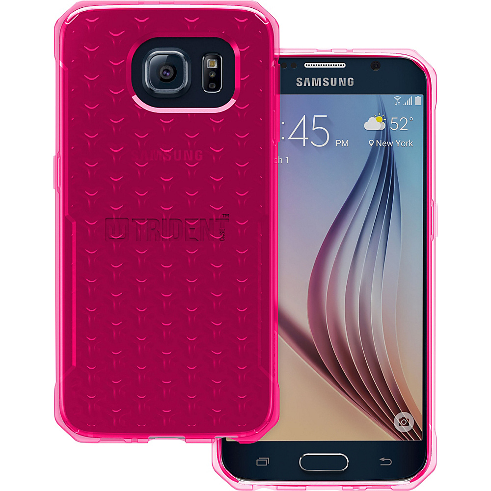Trident Case Krios Phone Case for Samsung Galaxy S6 Pink Gel Trident Case Electronic Cases