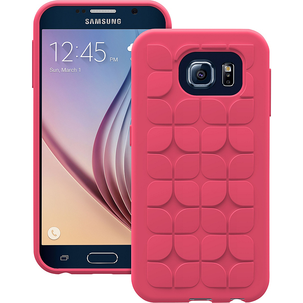 Trident Case Krios Phone Case for Samsung Galaxy S6 Red Petal Trident Case Electronic Cases