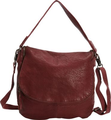 Latico Leathers Mercer Shoulder Bag Wine - Latico Leathers Leather Handbags