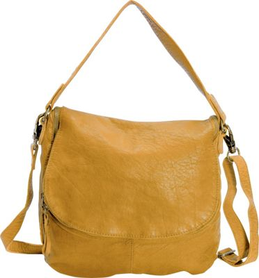 Latico Leathers Mercer Shoulder Bag Yellow - Latico Leathers Leather Handbags