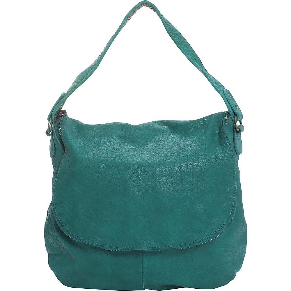 Latico Leathers Mercer Shoulder Bag Mint - Latico Leathers Leather Handbags - Handbags, Leather Handbags