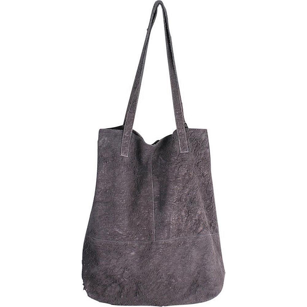 Latico Leathers King Tote Grey - Latico Leathers Leather Handbags - Handbags, Leather Handbags