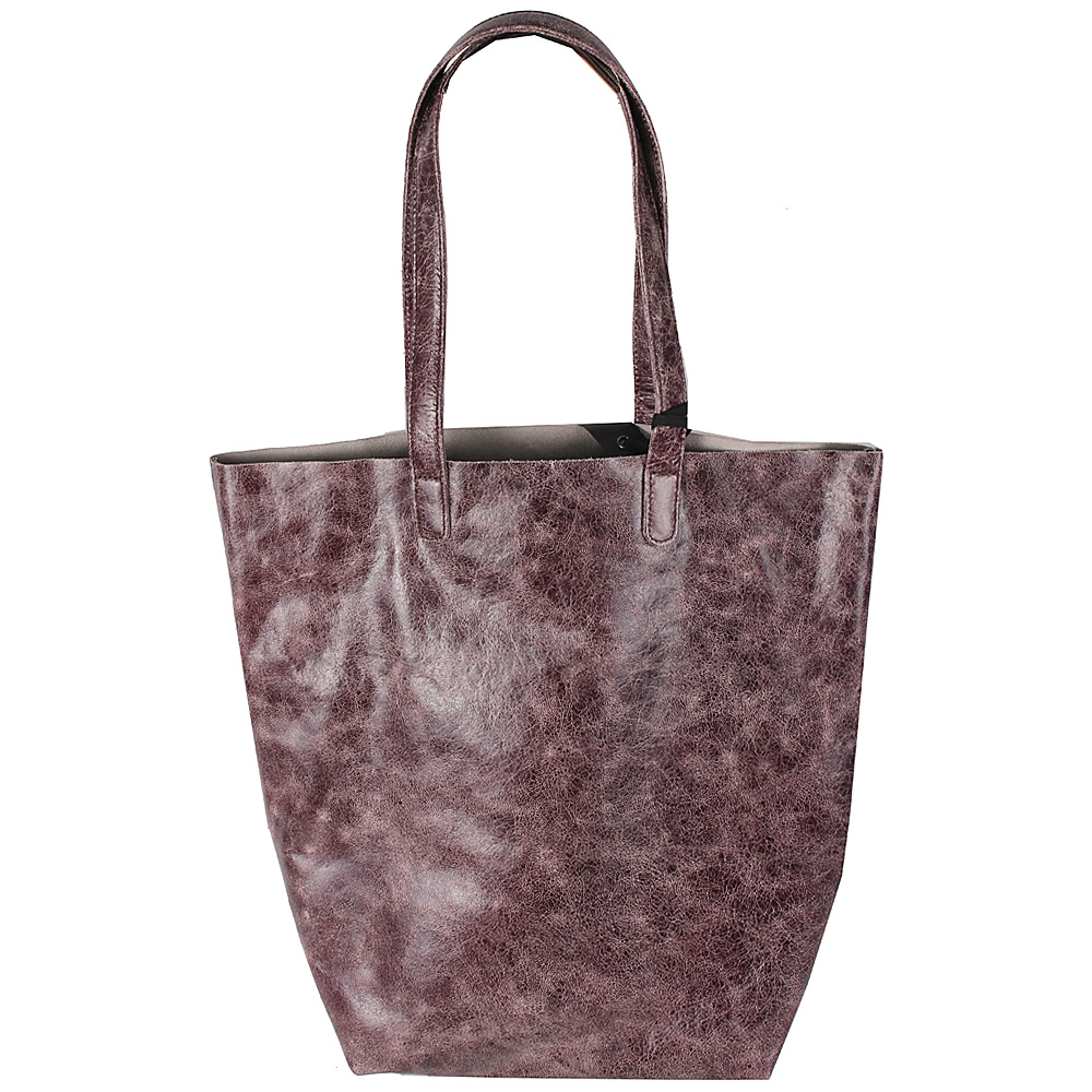 Latico Leathers Lennox Tote Astro Purple - Latico Leathers Leather Handbags - Handbags, Leather Handbags