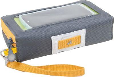 Detours Glovebox Handlebar Bag Gray/Orange - Detours Other Sports Bags