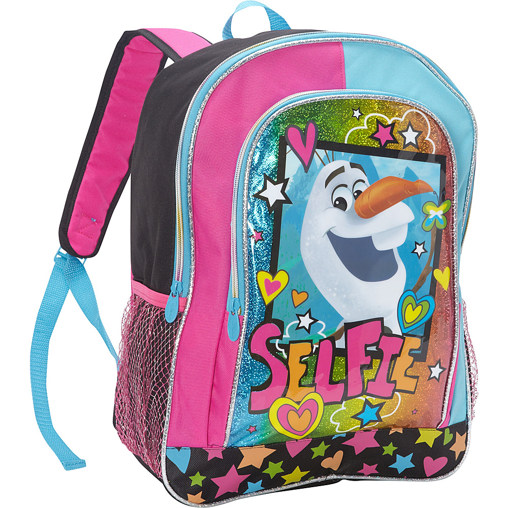 Disney Frozen Olaf Backpack Black - Disney School & Day Hiking Backpacks