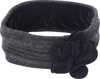 Image of Adora Hats Wool Blend Accordion Headband Grey - Adora Hats Hats