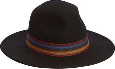 Adora Hats Wool Felt Safari Hat One Size - Black - Adora Hats Hats/Gloves/Scarves