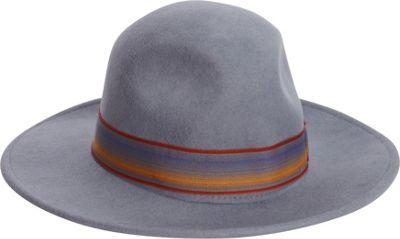 Adora Hats Wool Felt Safari Hat One Size - Steel Grey - Adora Hats Hats/Gloves/Scarves