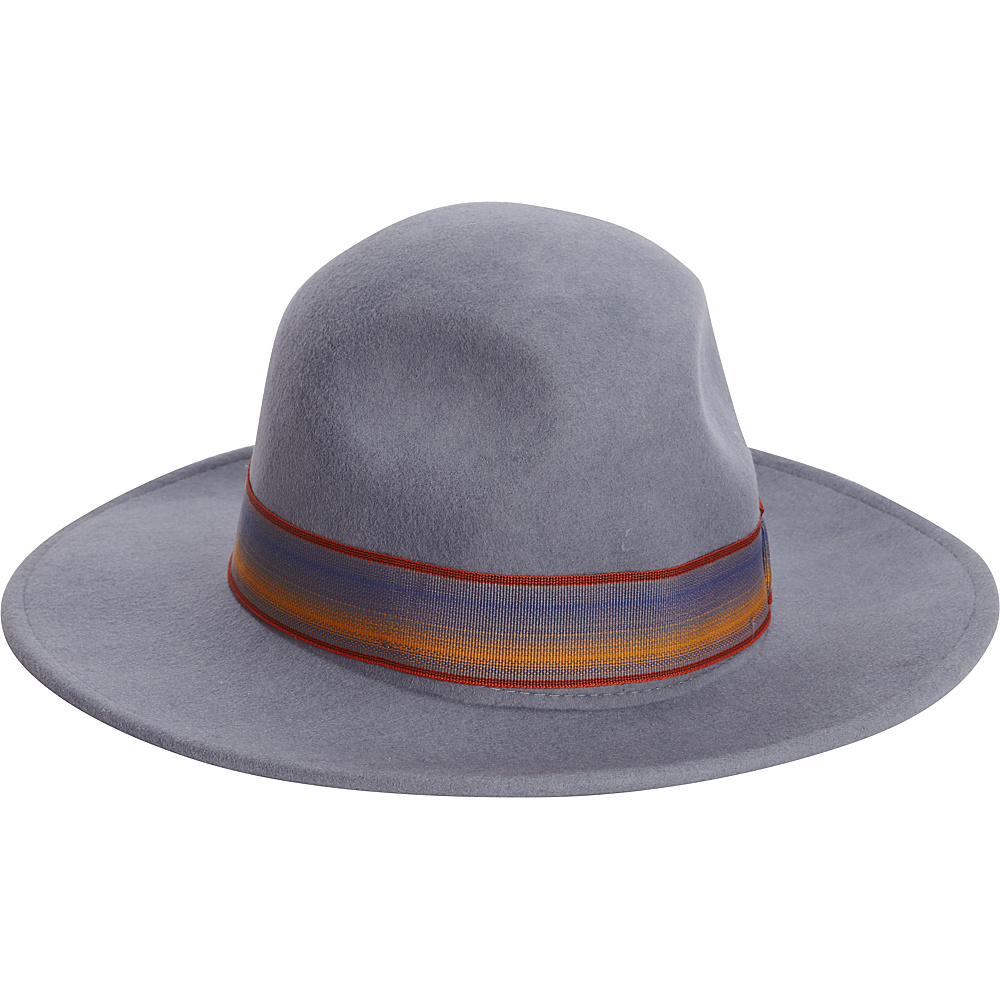 Adora Hats Wool Felt Safari Hat Steel Grey Adora Hats Hats Gloves Scarves