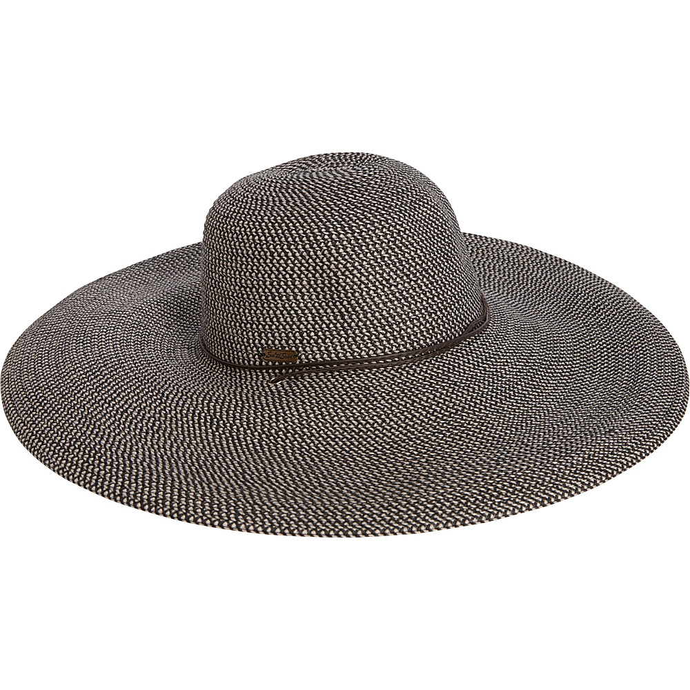 Sun N Sand Paper Braid Hat One Size - Black - Sun N Sand Hats - Fashion Accessories, Hats