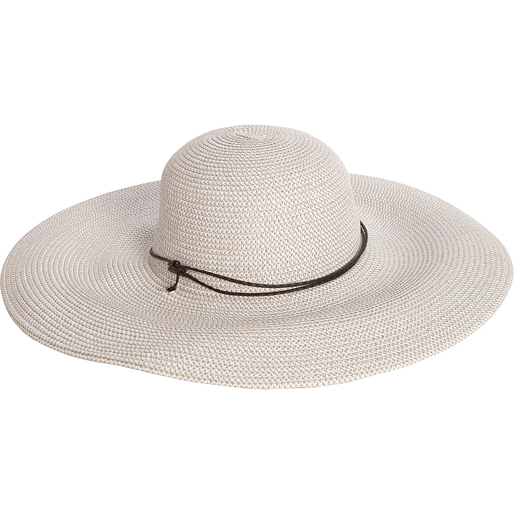 Sun N Sand Paper Braid Hat One Size - White - Sun N Sand Hats - Fashion Accessories, Hats