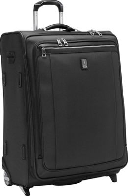 Travelpro Platinum Magna 2 26 inch Expandable Rollaboard Black - Travelpro Softside Checked